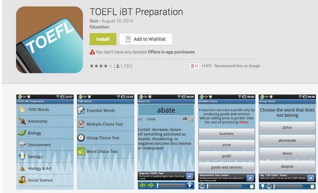 toefl essay preparation app Discover our toefl ibt preparation app for ipads and other tablets itooch toefl ibt prep app is loaded with 50 chapters, 1,508 exercises, 135 images and 278 spoken sound files & covers the toefl curriculum.