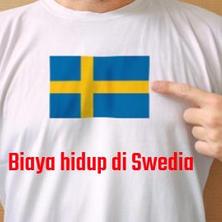 Biaya hidup di Swedia