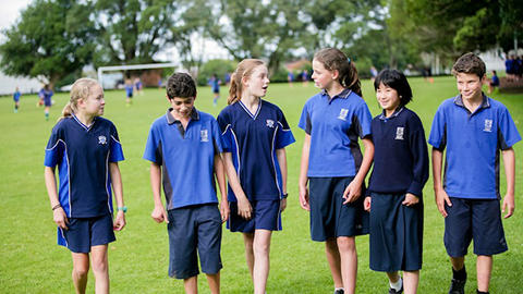 Auckland Normal Intermediate Students